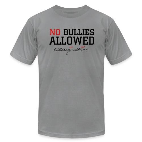 No Bullies Allowed by Alexis Bellino - Men's  Jersey T-Shirt