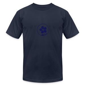 * PeaceFlower Unplugged * ☮ ✿  - T-shirt pour hommes