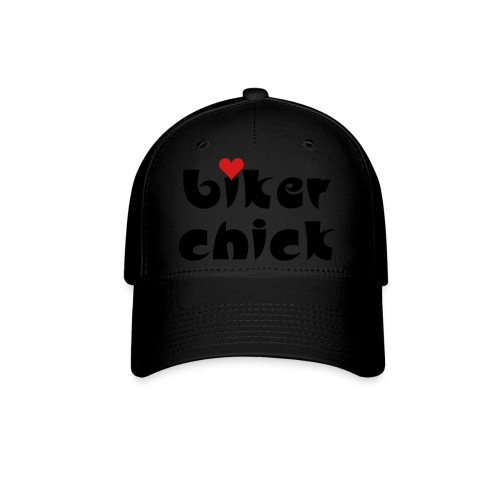 Biker Chick - Baseball Cap
