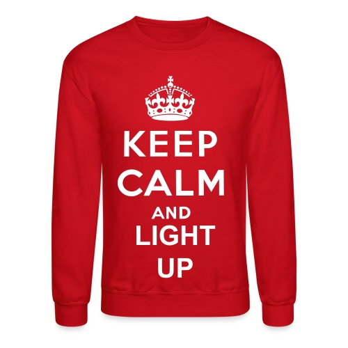 Light Up - Crewneck Sweatshirt