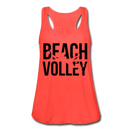 Beach Volleyball - Women's Flowy Tank Top by Bella