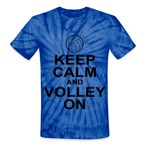 Keep Calm - Unisex Tie Dye T-Shirt