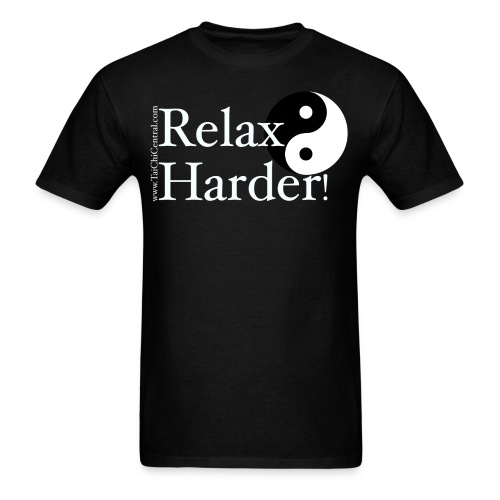 Relax-harder men's T-Shirt  - Men's T-Shirt