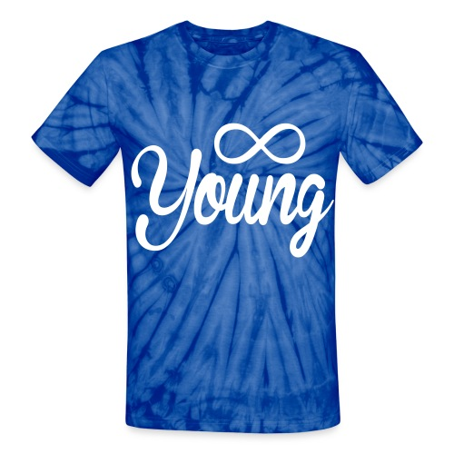 Forever Young Tie Dye Tee - Unisex Tie Dye T-Shirt