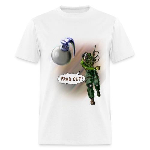 Frag Out!!! - Men's T-Shirt