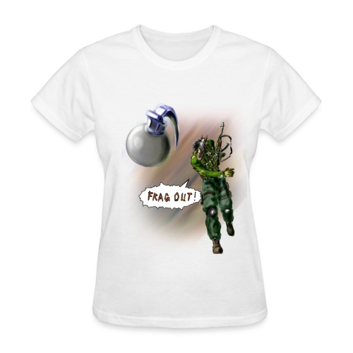 Frag Out!!! - Women's T-Shirt