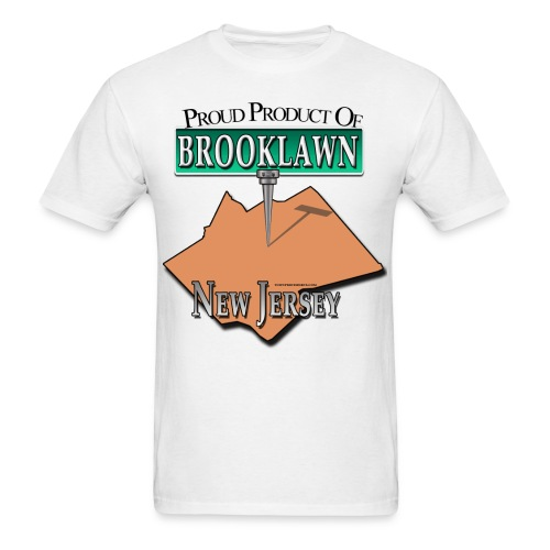 Brooklawn Proud Product T-Shirt - Men's T-Shirt