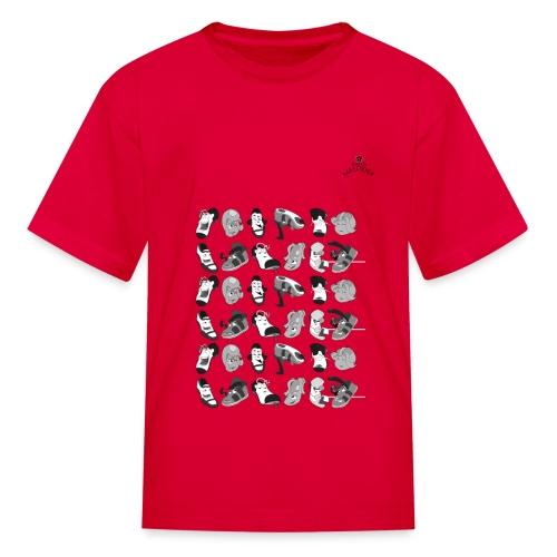 Multi Chartacter Kids T-Shirt - Kids' T-Shirt