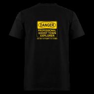 T-Shirts ~ Men's T-Shirt ~ Men's Ghost Town Explorer T-Shirt