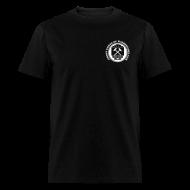 T-Shirts ~ Men's T-Shirt ~ Men's Ore Cart Ghost Towns of Washington Logo T-Shirt