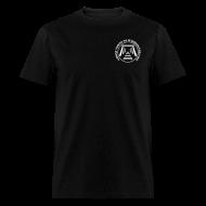 T-Shirts ~ Men's T-Shirt ~ Men's Mine Opening Ghost Towns of Washington Logo T-Shirt