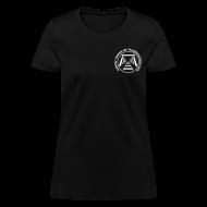 T-Shirts ~ Women's T-Shirt ~ Women's Mine Opening Ghost Towns of Washington Logo T-Shirt