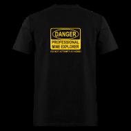 T-Shirts ~ Men's T-Shirt ~ Men's Professional Mine Explorer T-Shirt