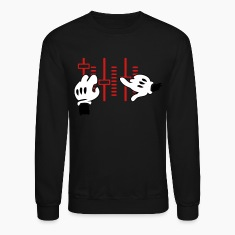 dj mickey hands Long Sleeve Shirts