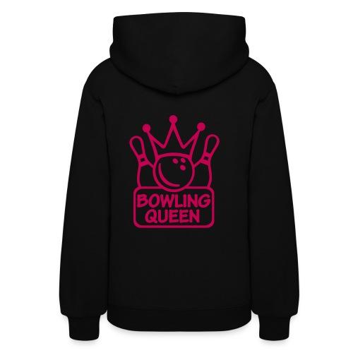 Women's Hoodie - Bowling Queen