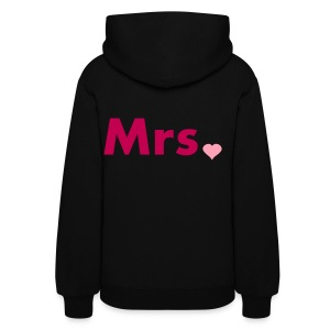Women's Hoodie - Women,Wife,Mrs,Marriage,Bride to Be