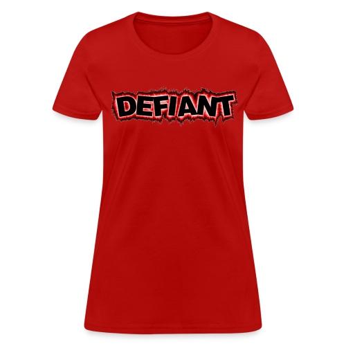 Women's Standard Defiant T-Shirt - Women's T-Shirt