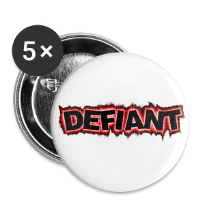 Defiant Button - Large Buttons