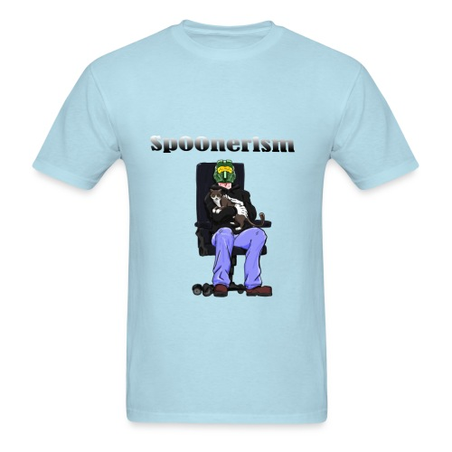Sp00nerism and Cat - Men's T-Shirt