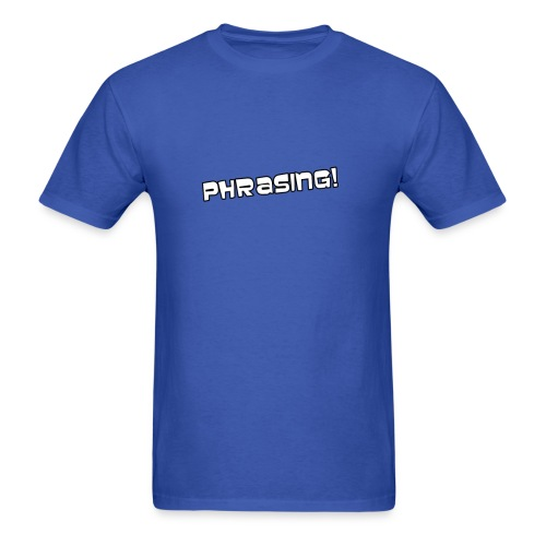 Phrasing - Archer | Robot Plunger - Men's T-Shirt
