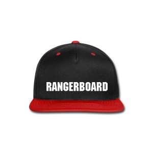 RangerBoard Hat - Red - Snap-back Baseball Cap