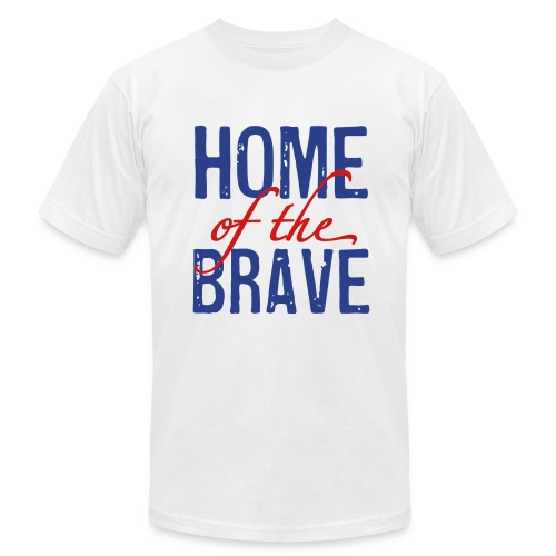 Home of the Brave - Men's  Jersey T-Shirt