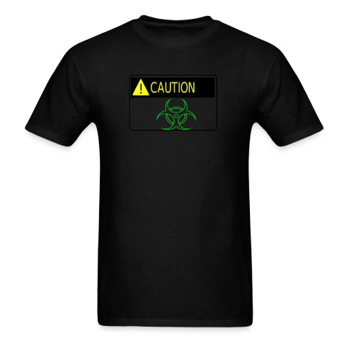 Caution I'm Radioactive - Men's T-Shirt