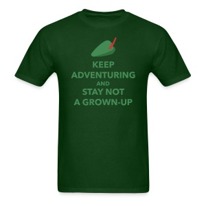Men's Keep Adventuring - Men's T-Shirt
