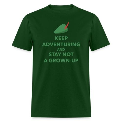 Men's Keep Adventuring - Men's T-Shirt