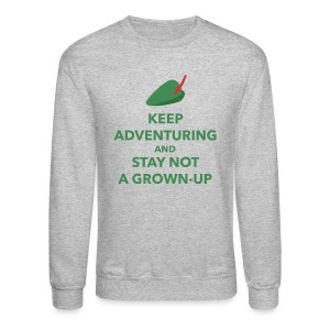 Keep Adventuring Crewneck - Crewneck Sweatshirt