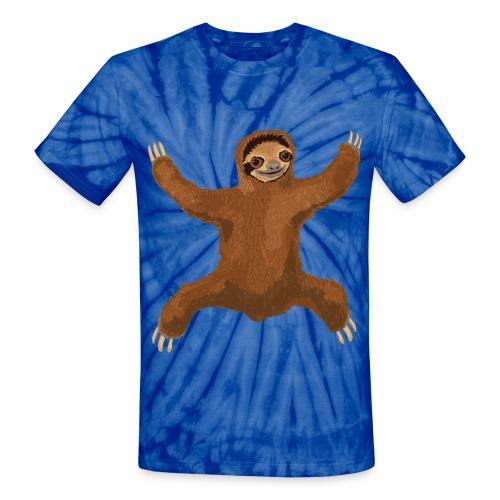 Sloth - Unisex Tie Dye T-Shirt