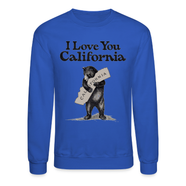 I Love You CA Shirt Diego Long Sleeve Shirts
