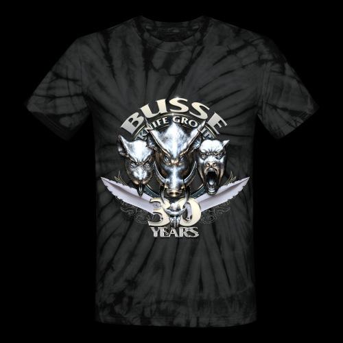 30th Anniversary Unisex Tie Die Tee - Unisex Tie Dye T-Shirt