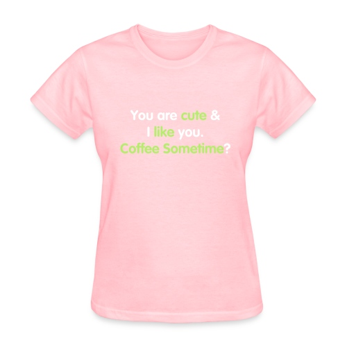 Cutie pie, you want coffee? - WOMEN - Women's T-Shirt