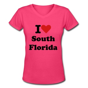 Women' V-Neck - Women's V-Neck T-Shirt