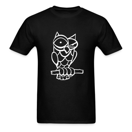 owl T-shirt - Men's T-Shirt