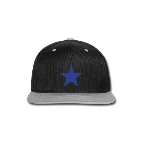star snapback - Snap-back Baseball Cap