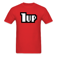T-Shirts ~ Men's T-Shirt ~ Mens 1UP T