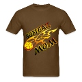 Softball Mom (flame) T-Shirts