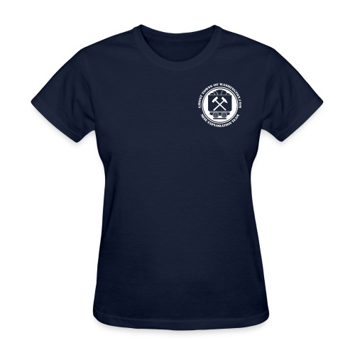 Women's Navy Mine Exploration Team T-Shirt - Women's T-Shirt