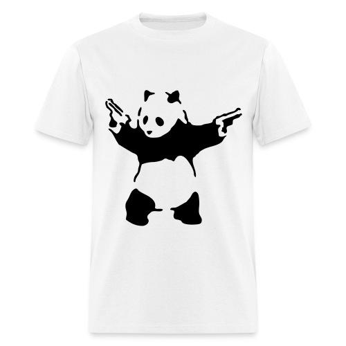 Panda Pistols (Banksy art) - Men's T-Shirt