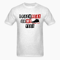 I Pack Heat Bred Design T-Shirts