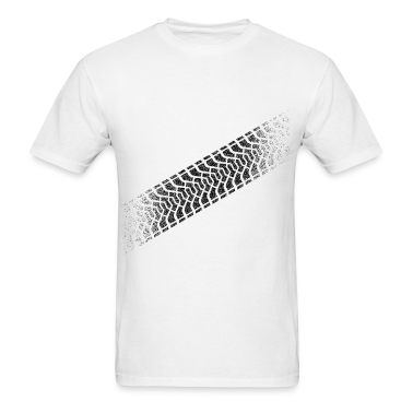Tire footprint, tire tread (Diagonal, PNG) T-Shirts