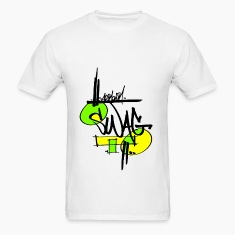 SWAG Yellow Green  T-Shirts