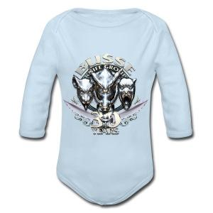 Baby Long Sleeve One Piece - Long Sleeve Baby Bodysuit