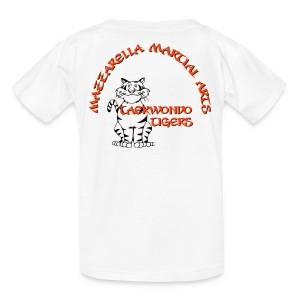 Kids' T-Shirt: TKD Tigers - Kids' T-Shirt