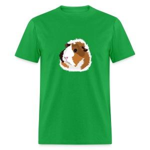 Retro Guinea Pig 'Elsie' Unisex T-Shirt (no text) - Men's T-Shirt