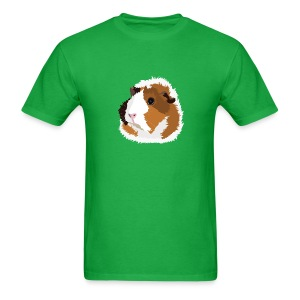 Retro Guinea Pig 'Elsie' Unisex T-Shirt (no text) - Men's T-Shirt