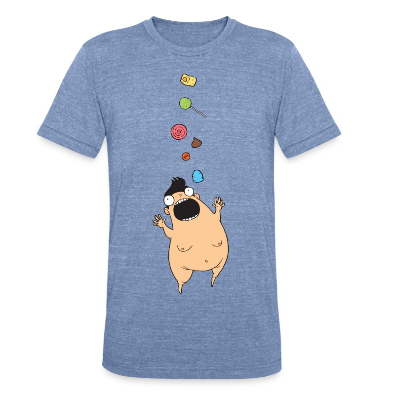 Little Fatty - Unisex Tri-Blend T-Shirt by American Apparel