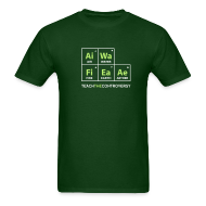 T-Shirts ~ Men's T-Shirt ~ Classic Periodic Table [elements]